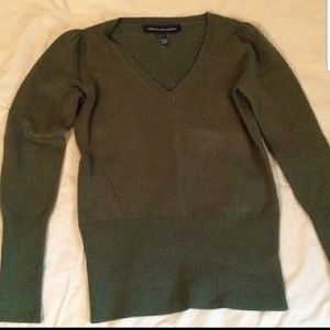 French Connection Olive green sweater